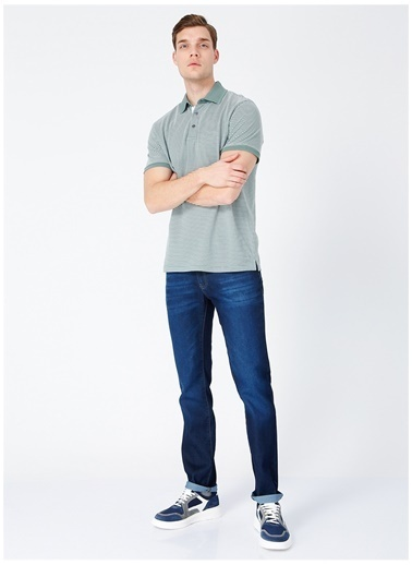 Fabrika Comfort Fabrika Comfort Nanga Mint Erkek Polo T-Shirt Yeşil